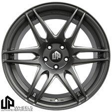 UP620 19x8.5 5x112 Matte Gunmetal ET35 Wheels Fits Audi b5 b6 b7 b8 c4 c6 Q5