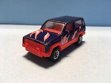 Diecast Matchbox Jeep Cherokee Purple Wear & Tear Used Condition