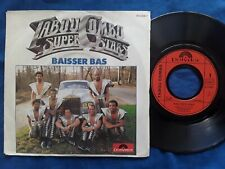 "TABOU COMBO  Baisser bas 1983  French 7"" Single CARBAZA 640055 Haiti Rolls royce"