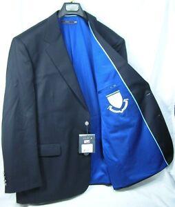Columbia University Team Blazer Licensed Logo Sport Coat Short- Regular - Tall