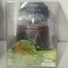 Ring of the Witch King-light up base-Lord of the Rings-Fellowship-2001-new w/box