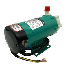 220V Magnetic Drive Water Pump 1140LPH Food Grade Chemical Circulation Pump