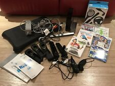 Nintendo Wii Console, Balance Board, Games and accessories - Black