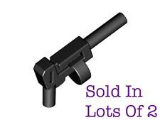 Lego 2) Machine Gun Tommy Gun Star Wars Minifigure Gun NEW