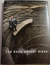 DARK NIGHT RISES FYC CONSIDERATION RARE PROMO DVD FOLDOUT PACKAGE Christian Bale