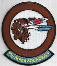 USAF 93RD BOMB SQUADRON PATCH -                                            COLOR