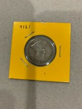 1916 King George V Straits Settlement 20 cents Silver coin