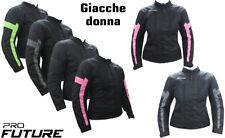 Giacca Giubbotto Moto In Tessuto Donna ragazza Sport Air Mesh Traforata