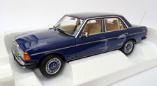 Norev 1/18 Scale Model Car 183710 - 1982 Mercedes Benz 200 - Blue