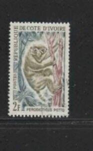 IVORY COAST #202 1963 2fr POLLO MINT VF NH O.G
