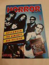Horror infernal 6/93 Fanzine Magazine Helloween Carcass Iron maiden Rock Hard
