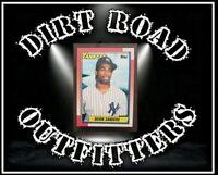 💥⚾️1990 Topps Deion Sanders New York Yankees #61 ROOKIE Baseball Card💥⚾️