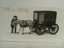 """Department 56 Heritage Village Collection """"Amish Buggy"""""""