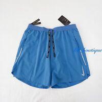 "NWT Nike AJ7784-402 Men's Flex Stride Dri-Fit 7"" Running Training Shorts Blue L"