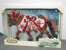 Breyer 2020 Christmas Holiday Yuletide Greetings Holiday Draft Horse 700123 Nib