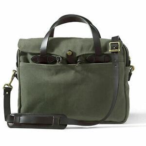 Filson Original Briefcase 70256 Rugged Twill 11070256 Otter Green