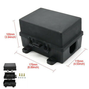 21 Way Relay Box Fuse Block Holder Dustproof Universal ATC/ATO Fit For All Cars