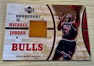 Michael Jordan 2006-07 Upper Deck Hardcourt Game used Floor Insert. #GF-11 RARE!