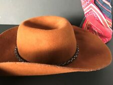 Vintage River Island Felt Cowboy Hat …beautiful and soft and comfortable – one s