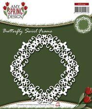 AMY design Primavera-Farfalla Swirl Telaio Die Taglio ADD10041