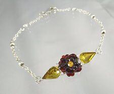 Liz Claiborne Liz Claiborne Marcasite Flower Boxed Bracelet inOvF