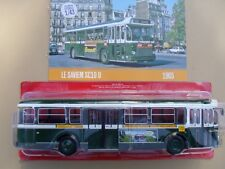 n° 47 SAVIEM SC10 U  PARIS ligne 72 Autobus et Autocar du Monde année 1965 1/43