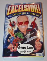 Excelsior! Amazing Life of Stan Lee Signed Numbered HB/DJ Simon Schuester