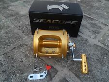 80WII Saltwater Trolling Big Game Fishing Reel 2 Speed 106lb Drag Free shipping