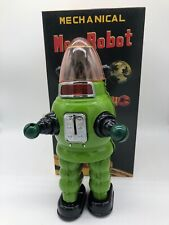MOON ROBOT GREEN ROBBY ROBOT YONEZAWA TIN TOY NOMURA YOSHIYA HORIKAWA