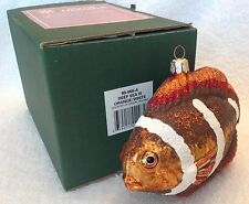 Deep Sea lll,Tropical Fish,Slavic Treasures,Poland,Christma s,Ornament,W/tag&box