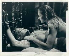 George Peppard & Ursula Andress in Bed The Blue Max Press Photo
