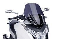 BULLE PUIG V-TECH LINE SPORT HONDA INTEGRA 750 2014 FUME FONCE