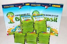Panini WC WM BRASIL 2014 14 – 500 TÜTEN PACKETS BUSTINE SOBRES + 2 x ALBUM