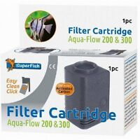 Superfish Aqua Flow 200 & 300 Easy Click Replacement Filter Cartridge