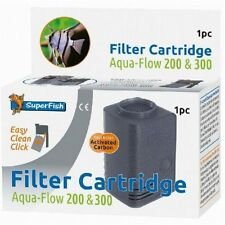 Superfish Aqua Flow 200 & 300 EASY CLICK Cartuccia Filtro di ricambio