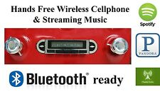 1955-59 Chevy Truck AM FM Bluetooth New Stereo Radio iPod USB Aux inputs, 300w