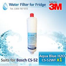 Bosch Premium Internal Replacement Water Filter 5586605, CS-52 for Fridge KA62