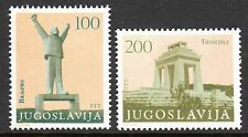 Yugoslavia - 1983 Revolution monuments - Mi. 1991-92 MNH