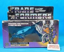 Vintage 1984 Transformers G1 Insecticon Kickback Hasbro Sealed in Box