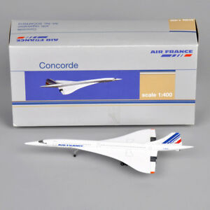 1/400 Concorde Air France 1976-2003 Alloy Aircraft Plane Model Display Gift Toy