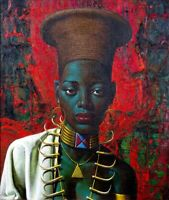 Zulu Maiden Vladimir Tretchikoff Art painting A0 A1 A2 A3 A4 photo poster