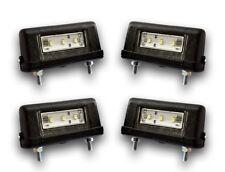 4 x schwarz LED Kennzeichen Nummernschild Marker lichter-lkw Volvo Scania Mann