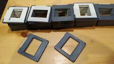 50 Plain Glassless 35mm Slide / Transparency Mounts / Holders