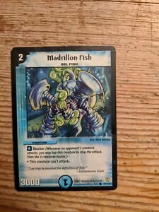 Duel Masters Cards Madrillon Fish