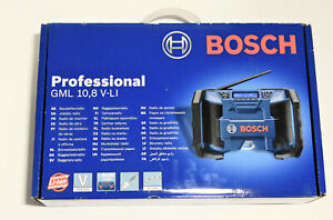 Bosch Professional GML 10,8 V-LI Akku-Baustellenradio