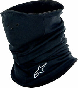 Alpinestars Black Microfleece Tech Warmer Baselayer for Cold Weather Motorcycle