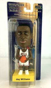 Jay Williams Bobble-Head Collectible by Upper Deck: Original Package: Pre-Owned