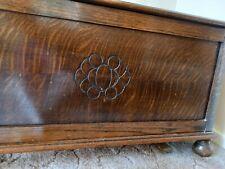 More details for antique oak chest/blanket box