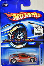 HOT WHEELS 2006 ACURA HSC CONCEPT #199 FACTORY SEALED