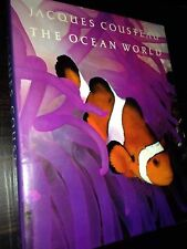 Jacques Cousteau : The Ocean World by Jacques-Yves Cousteau (1985, Hardcover)